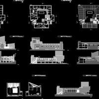 Säynätsalo Town Hall, Finland | Alvar Aalto | BiblioCAD
