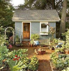 60+ Garden Shed DIY Plans_51