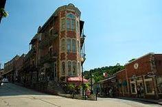 Downtown Eureka Springs, Arkansas
