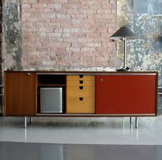 George Nelson; EOG Credenza for Herman Miller, 1950s.
