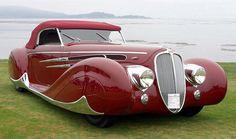 1939 Delahaye MS 165 V12 Figoni & Falaschi Roadster
