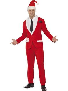 Cool Santa Man Suit fancy dress costume