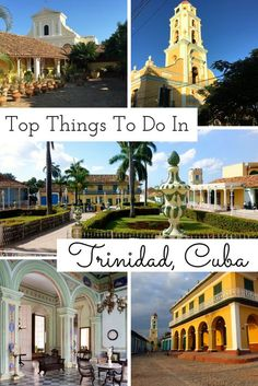 Trinidad's picture-perfect location, between mountains and Cuba's Caribbean coastline, offers an abundance of natural attractions for tourist.