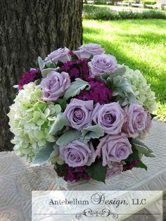 Pretty Lavender Purple Wedding Flowers In This Bouquet By Dallas Florist AntebellumDesign