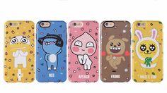 KAKAO TALK FRIENDS iPhone 6, 6 Plus Hard Case Cover Protector  #Kakao
