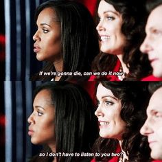 Fitz! Mellie and  Olivia