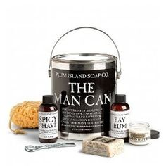 The Man Can Gift Basket - Husband, Boyfriend, Spouse Gift or Valentines Day Gift Baskets Ideas for Men / Him. Lovers Gift or Valentine Gift Basket for a Man. Unique on Sale Assortment for Guys - Delivery By Mail. (Gift Basket Valetine Day, Gift Ideas for Boyfriend, Etc.) #valentineday #gift