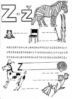 Vyvození písmene Z - Ž