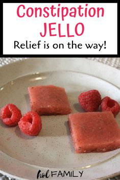 If you're looking for a yummy and kid-friendly way to relieve constipation in kids, this constipation jello is exactly what you need! Made using natural ingredients, this recipe is great for babies, children, or adults looking for fast relief from constipation. #constipation #naturalremedies #constipationremedies #kidfriendly
