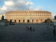 El Palacio Real de Nápoles una maravilla del siglo XVII