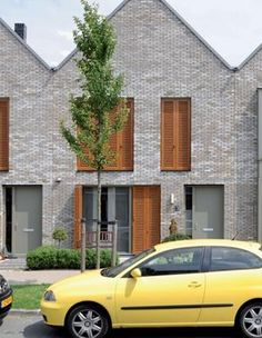 Private Housing (over 14 units): Maccreanor Lavington Detail Architecture, Brick Architecture, Residential Architecture, Contemporary Architecture, Facade Design, House Design, Modern Brick House, Brick Construction, Arch House