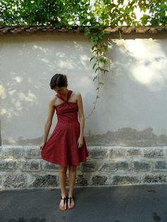 Sewaholic Lonsdale Dress: das kleine Rote