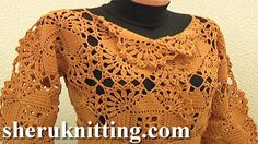 SEAMLESS SQUARE MOTIF CARDIGAN Tutorial 5 Part 2 of 2. http://www.sheruknitting.com/sherufashion/crochet-and-knitting-clothes/item/711-seamless-square-motif-cardigan.html In this crochet video tutorial you will learn how join crochet square motifs together to create a larger piece of work.