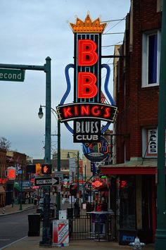 b.b. king's blues club, memphis, tn