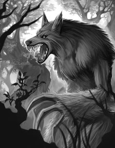 update werewolf WIP by Clearmirror-StillH2O