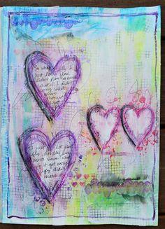 Making Scrap Up: Art Journaling!