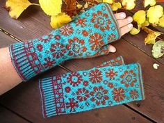 Ravelry: Latvian Blooms pattern by Dela Hausmann