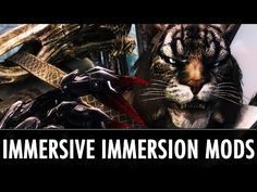 Skyrim Mods: Immensely Immersing Immersive Immersion Mods - YouTube