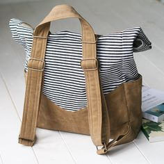 Wonderful Picture of Backpack Sewing Pattern Backpack Sewing Pattern How To Make A Waxed Canvas Retro Rucksack Sewing Sewing Sewing Mochila Retro, Diaper Bag Patterns, Backpack Pattern, Vintage Backpacks, Waxed Canvas, Vintage Sewing Patterns, Toddler Sewing Patterns, Purses And Bags, Fabric