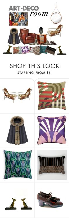 """""""ART-DECO  atmosphere ♡"""" by ohintheshop-helene ❤ liked on Polyvore featuring interior, interiors, interior design, home, home decor, interior decorating, Rene and Gubi"""
