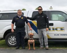 Leonard recently became Ohio's first ever pit bull K-9.