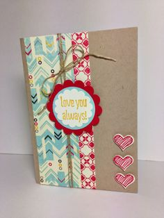 Klompen Stampers (Stampin' Up! Demonstrator Jackie Bolhuis): SOMETHING TO SAY......