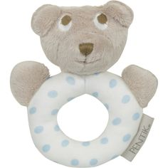 Light blue Nallukka (Teddybear) rattle delights the smallest ones in your family. cm in size, the surface of this rattle is 100 % cotton and the filling polyester. Stork, Nest, Teddy Bear, Nest Box, Teddy Bears
