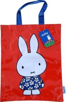 LOVE Miffy! Miffy Red Tote Bag #miffy #dickbruna