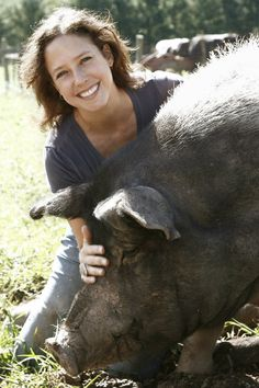 Jenny Brown is cofounder of Woodstock Farm Animal Sanctuary in Watkins Glen, NY. She left a promising career in television news after a week-long undercover stint in Texas stockyards. Woodstock has become one of the most famous vegan organizations raising awareness of animal issues in addition to rescuing countless animals.