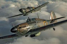 Battle of Britain ( Ww2 Aircraft, Fighter Aircraft, Military Aircraft, Fighter Jets, Supermarine Spitfire, Ww2 Spitfire, Hawker Hurricane, Airplane Art, The Spitfires
