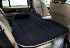 Ahom Auto voiture lit gonflable matelas pneumatique voiture flocage/Oxford voyage lit gonflable matelas air bed sofr gonflable , black no block