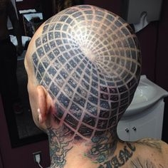 Optical illusion tattoo by Cory-Ferguson