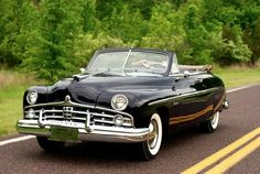 1949 Lincoln 9EL Convertible