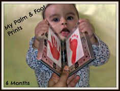 Palm & Foot Prints @ 6 Months