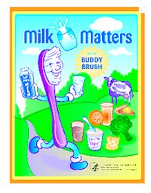 Milk Matters with Buddy Brush Coloring Book