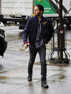 Jared Leto in NYC on May 3, 2016 ;)