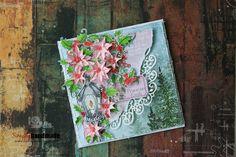 #itssimplyhandmade#christmas#handmadeflowers#greetingscards