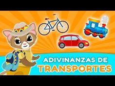 Juegos de adivinanzas ► Medios de transporte 🚲🚗🚂🚖 - YouTube Riddles With Answers, Fat Man, Learning Spanish, Einstein, Transportation, Pikachu, Preschool, Challenges, Humor