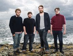 Frightened Rabbit Band Picture