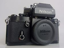 Nikon F2 Photomic 35 mm SLR Film Camera Black Body DP-1 Prism finder from Japan