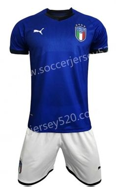 503ac6f08 2018 World Cup Italy Home Blue Soccer Uniform Italy House