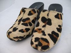 NEW NATURALIZER Womens ANIMAL Print Prints Pattern Pony Calf Hair Clog SHOES $1 SORRY SOLD ... we sell more WOMENS SHOES, SLIPPERS and SANDALS at http://www.TropicalFeel.com