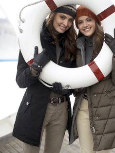 Cute Idea for a Nautical session. Best friends session