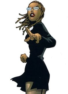 Dr. Celia Reyes (X-Men).  From: The Greatest Black Women In Superhero Comics (Who Aren't Storm)