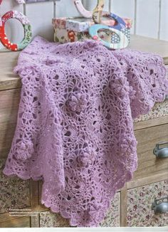 I miei lavori all'uncinetto: Copertine all'uncinetto Baby Blanket Crochet, Crochet Baby, Knit Crochet, Crochet Afghans, Tye Blankets, Baby Due, Lace Shorts, Knitting, Inspiration
