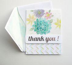 thank you card by Mel McCarthy