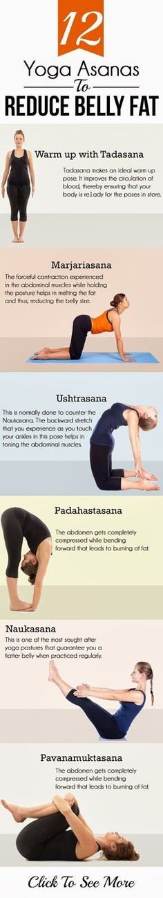 12 Yoga Asanas To Reduce Belly Fat | Fit Slice