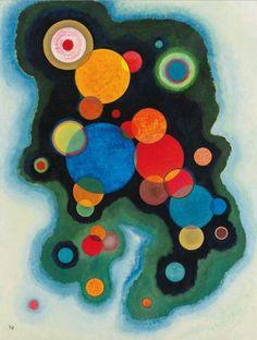 "Wassily Kandinsky - ""Deepened Impulse"", 1928"