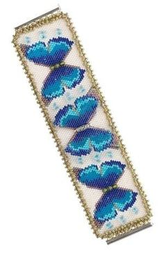 Bracelet with Swarovski® Crystal Beads and Delica® Glass Seed Beads - Fire Mountain Gems and Beads by candice