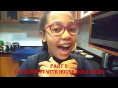 Experiment with house hold items, part 2 Science And Nature, Science And Technology, Experiment, Hold On, Household, Natural, Naruto Sad, Science And Nature Books, Nature